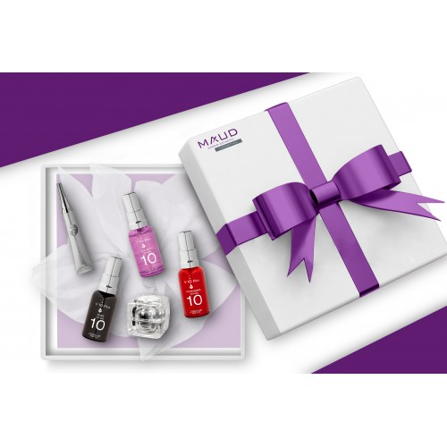 Coffrets Cadeaux - V10 PLUS - COFFRET OPTIMAL ILLUMINATEUR DE TEINT PEAU MATURE V10+