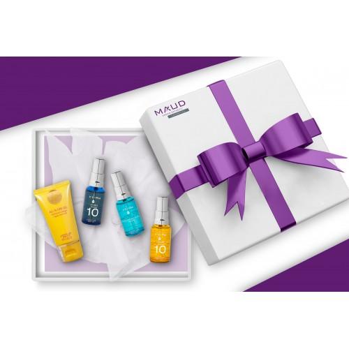 Coffrets Cadeaux - V10 PLUS - COFFRET OPTIMAL PEAU ASPHYXIÉES A TENDANCE ACNÉIQUE V10+