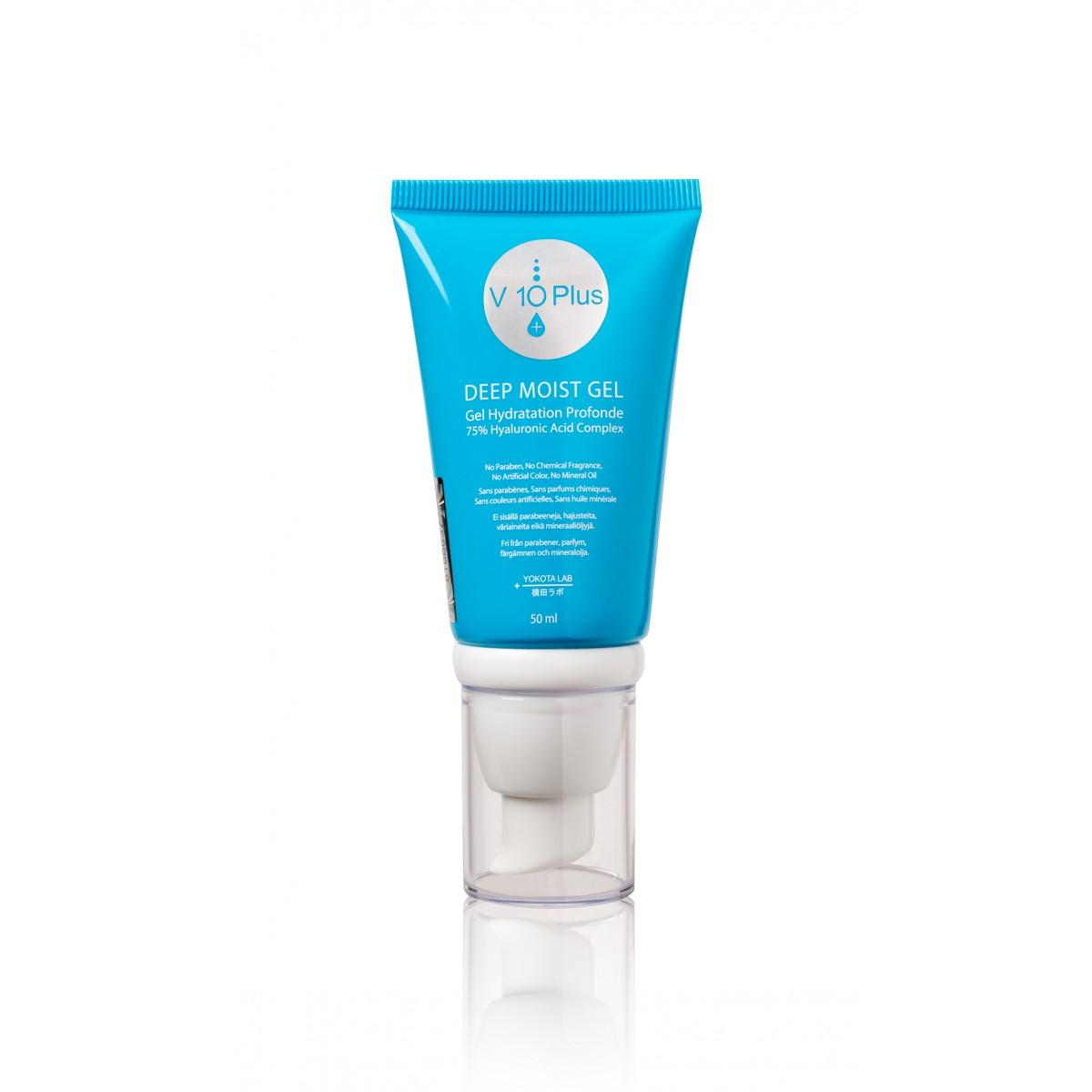 Soins beauté - V10 PLUS - GEL HYDRATANT DEEP MOIST V10+ (50 ml)